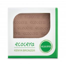 Ecocera (W) wegański prasowany bronzer do twarzy Kenya 10g