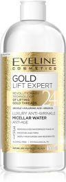 Eveline Cosmetics Gold Lift Expert (W) luksusowy przeciwzmarszczkowy płyn micelarny 500ml