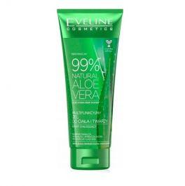 Eveline Cosmetics 99% Natural Aloe Vera Gel (W) multifunkcyjny żel aloesowy do ciała i twarzy 250ml