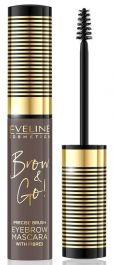 Eveline Cosmetics Brow & Go! Eyebrow Mascara (W) tusz do brwi 05 Taupe 6ml