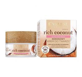 Eveline Cosmetics Rich Coconut (W) ultra-odżywczy kokosowy krem do twarzy 50ml