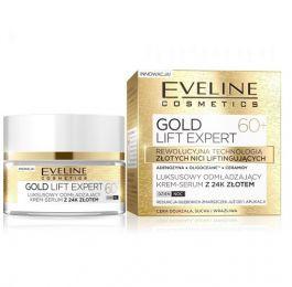 Eveline Cosmetics Gold Lift Expert 60+ (W) luksusowy odmładzający krem-serum z 24k złotem 50ml