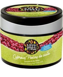 Farmona Tutti Frutti Sugar Body Scrub (W) peeling do ciała Gruszka i Żurawina 300ml