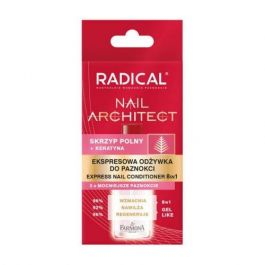 Farmona Radical Nail Architect (W) ekspresowa odżywka do paznokci 8w1 12ml