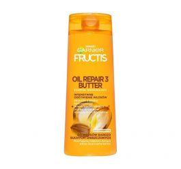 Garnier Fructis Oil Repair 3 Butter (W) szampon wzmacniający do włosów bardzo suchych i zniszczonych 400ml