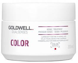 Goldwell Dualsenses Color 60 Sec Treatment (W) maska do włosów farbowanych 200ml