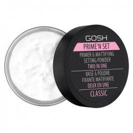 GOSH Prime'n Set 2in1 Primer & Mattifying Setting Powder (W) puder/baza do twarzy 7g