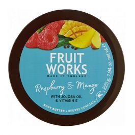 Grace Cole Fruit Works Body Butter (W) masło do ciała Malina & Mango 225g