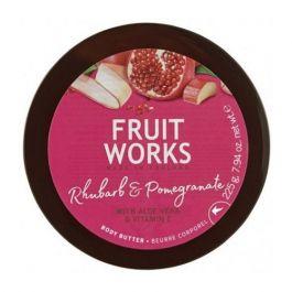 Grace Cole Fruit Works Body Butter (W) masło do ciała Rabarbar & Granat 225ml