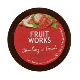 Grace Cole Fruit Works Body Butter (W) masło do ciała Truskawka & Pomelo 225g
