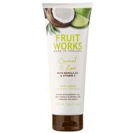 Grace Cole Fruit Works Body Scrub (W) peeling do ciała Kokos & Limonka 225ml