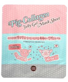 Holika Holika Pig-Collagen Jelly Gel Mask Sheet (W) żelowa maseczka do twarzy 25ml