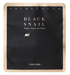 Holika Holika Prime Youth Black Snail Repair Hydro-Gel Mask (W) maska do twarzy ze śluzem ślimaka 25g