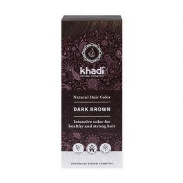 Khadi Natural Haircare (W) henna do włosów ciemny brąz 100g