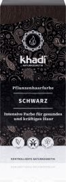 Khadi Natural Haircare (W) henna do włosów czarna 100g