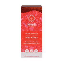 Khadi Natural Haircare (W) henna do włosów naturalna czerwona (ruda) 100g