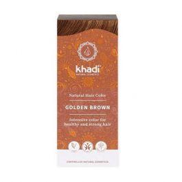 Khadi Natural Haircare (W) henna do włosów złoty brąz 100g
