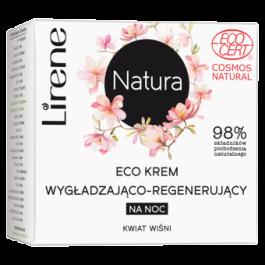 Lirene Natura ECO Cream (W) wygładzająco-regenerujący krem na noc Kwiat Wiśni 50ml