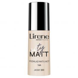 Lirene City Matt (W) fluid matująco-wygładzający 203 Jasny 30ml