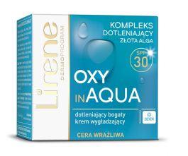 Lirene Oxy in Aqua (W) dotleniający krem wygładzający cera wrażliwa SPF30 50ml