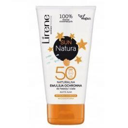 Lirene Sun Natura SPF50+ (U) emulsja ochronna do twarzy i ciała 120ml