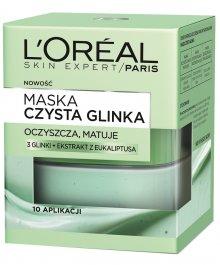 L'Oreal Skin Expert Czysta Glinka (W) maska oczyszczająco-matująca 50ml