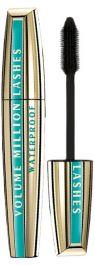 L'oreal Volume Million Lashes Waterproof (W) mascara Black 10,5ml