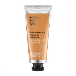 Make Me Bio Orange Energy (W) peeling do twarzy z kwasami roślinnymi 40ml