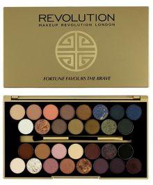 Makeup Revolution Fortune Favours the Brave (W) paleta 30 cieni do powiek 16g