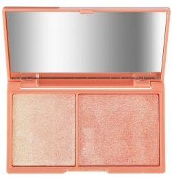 Makeup Revolution I Heart Make Up (W) paletka do konturowania twarzy Peach & Glow 11g
