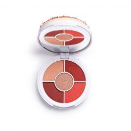Makeup Revolution I Heart Revolution Donuts Strawberry Sprinkl (W) paleta cieni do powiek 5x1,6g