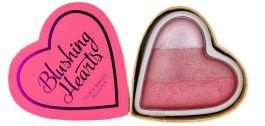 Makeup Revolution I Love Makeup Heart Blusher (W) róż do policzków Bursting With Love 10g