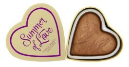 Makeup Revolution I Love Makeup Heart Brozner (W) bronzer do policzków Love Hot Summer 10g