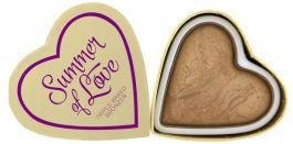 Makeup Revolution I Love Makeup Heart Brozner (W) bronzer do policzków Summer Of Love 10g