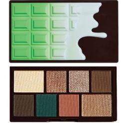 Makeup Revolution I Love Makeup Palette (W) mini paleta 8 cieni do powiek Mint Choc 10,2g