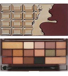 Makeup Revolution I Love Makeup Palette (W) paleta 16 cieni do powiek 24k Gold 22g