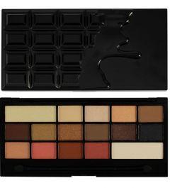 Makeup Revolution I Love Makeup Palette (W) paleta 16 cieni do powiek Chocolate Vice 22g