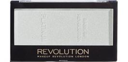 Makeup Revolution Ingot Highlighter (W) rozświetlacz do twarzy Platinium 12g