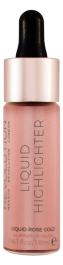 Makeup Revolution Liquid Highlighter (W) rozświetlacz w płynie Rose Gold 18ml