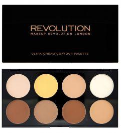 Makeup Revolution Ultra Cream Contour Palette (W) zestaw do modelowania twarzy 13g