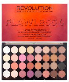 Makeup Revolution Ultra Eyeshadows Palette (W) paleta 32 cieni do powiek Flawless 4 16g