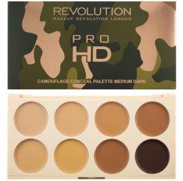 Makeup Revolution Ultra Pro HD Camouflage (W) paleta korektorów do twarzy Medium/Dark 10g