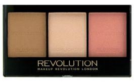 Makeup Revolution Ultra Sculpt & Contour Kit (W) zestaw do konturowania twarzy Fair C01 11g