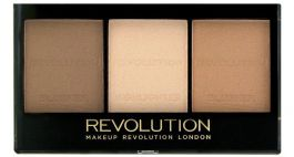 Makeup Revolution Ultra Sculpt & Contour Kit (W) zestaw do konturowania twarzy Light/Medium C04 11g