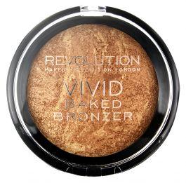 Makeup Revolution Vivid Baked Bronze (W) bronzer do policzków Rock On World 13g