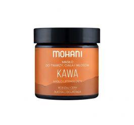 MOHANI (W) masło Kawowe do twarzy, ciała i włosów 50g