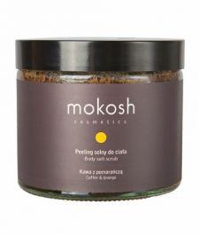 Mokosh (W) peeling solny do ciała Kawa z pomarańczą 300g