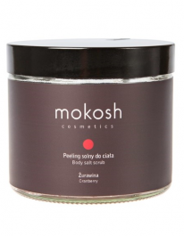 Mokosh (W) peeling solny do ciała Żurawina 300g
