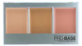 MUA Pro-Base Conceal & Brighten Kit (W) zestaw 3 korektorów do twarzy Beige - Golden 11g