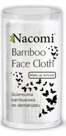 Nacomi Bamboo Face Cloth (W) bambusowa ściereczka do demakijażu 1szt